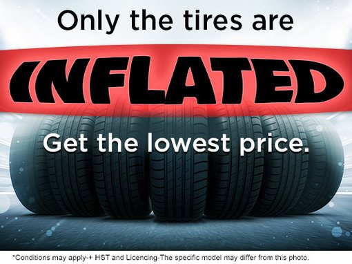 Only the Tires are Inflated