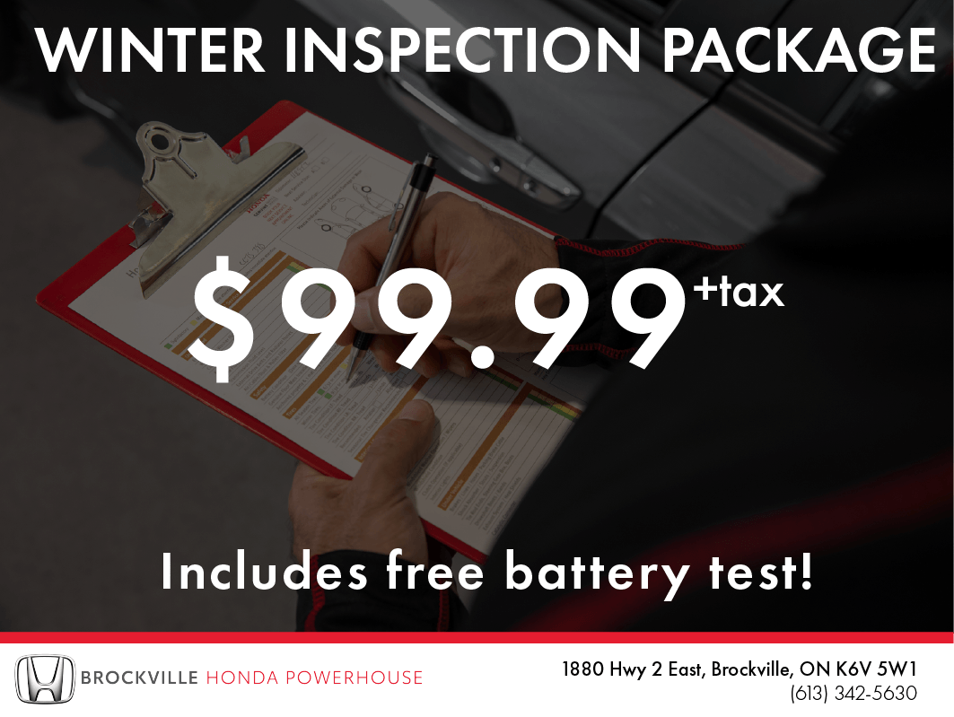 Winter Inspection Package
