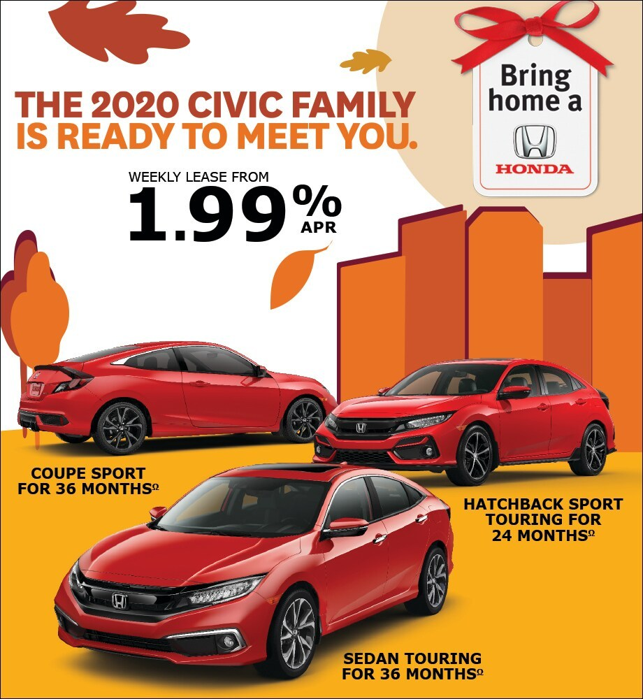The 2020 Civic Family