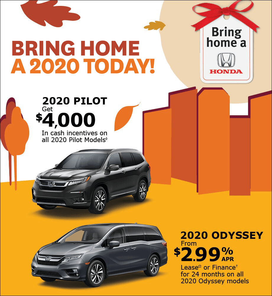 2020 Pilot and Odyssey