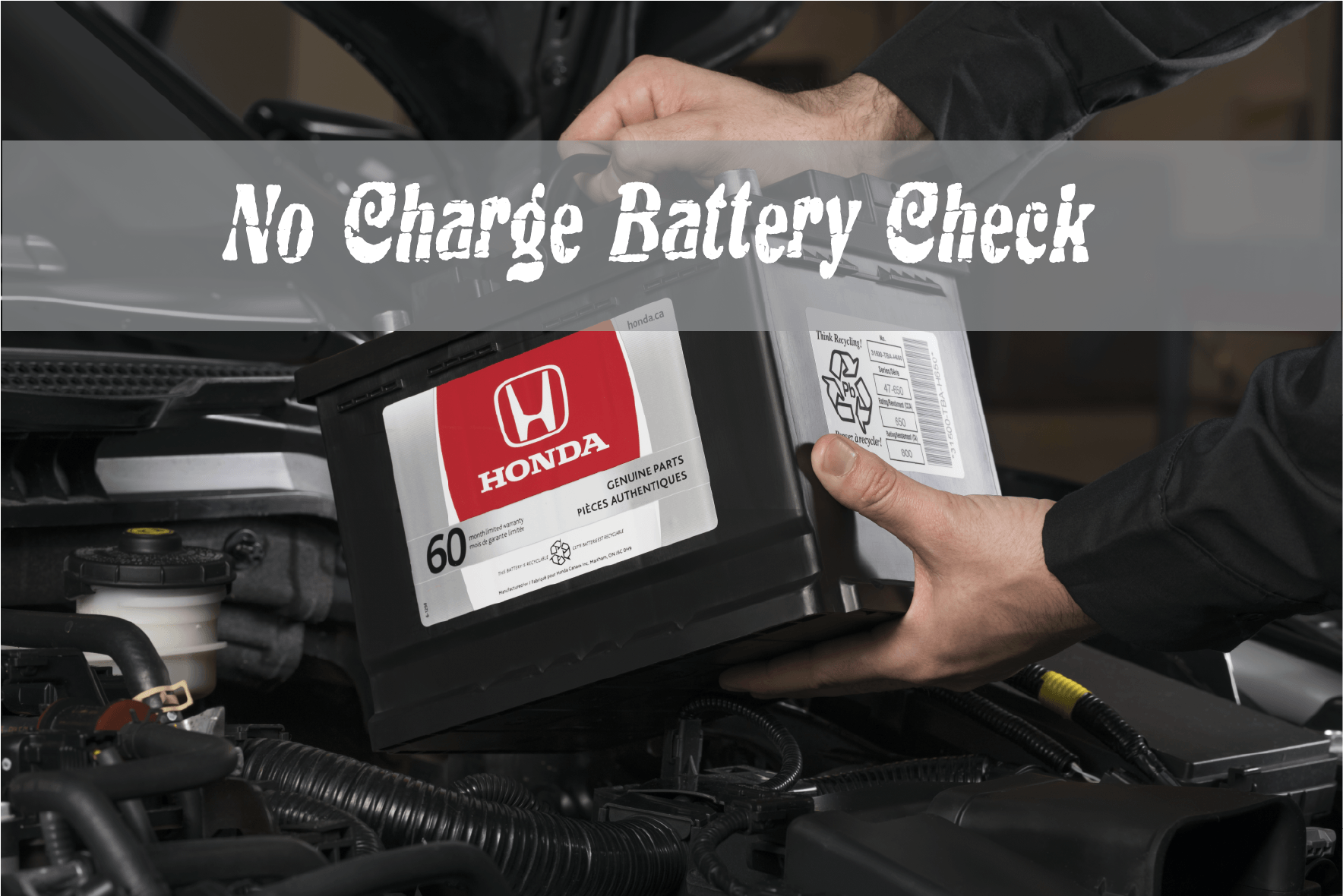 No Charge Battery Test